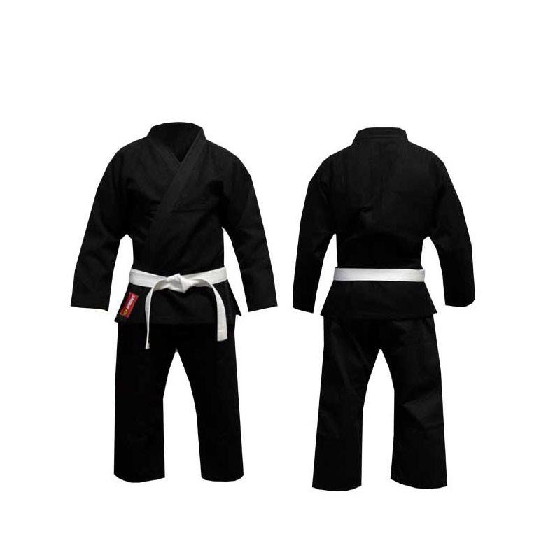 divisa jujitsu judo ninjitsu nera shimai in cotone