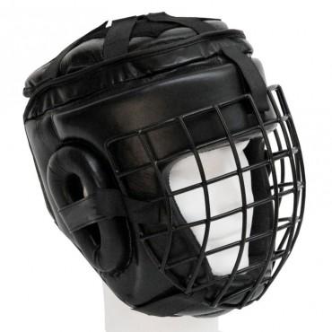 casco integrale con grata in acciaio Top Ring
