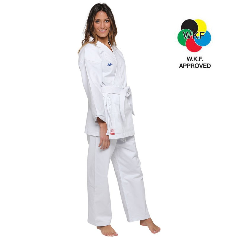 Karategi Kappa Helsinki Kumite WKF bianco