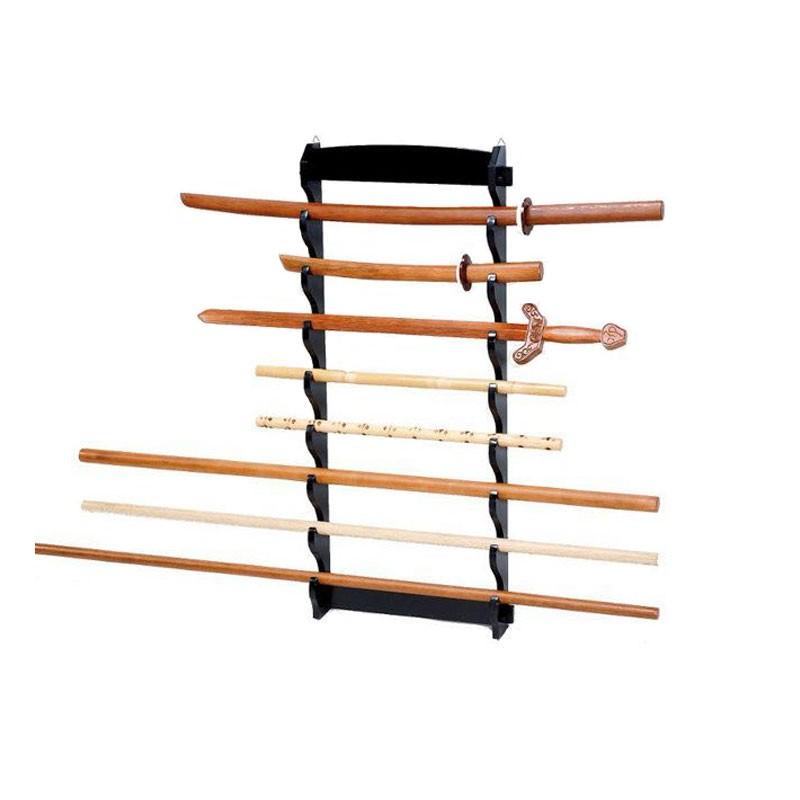 stand espositore da muro per 8 pezzi