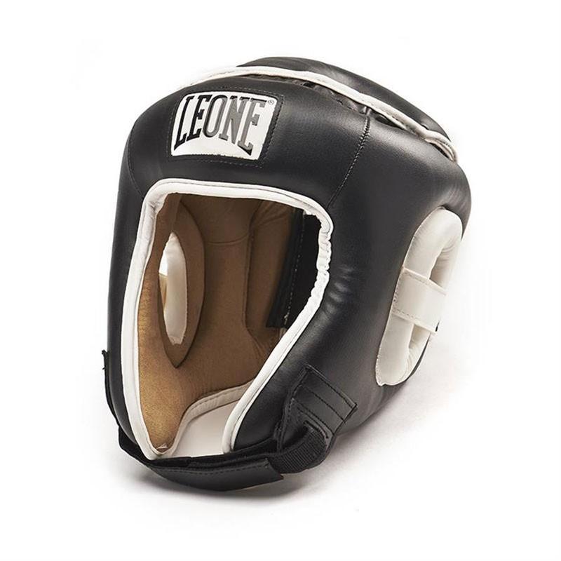 casco combat in similpelle da allenamento e ring vari colori
