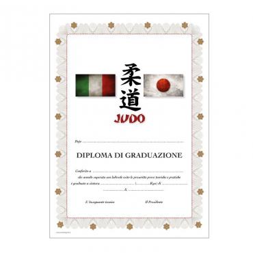 Diploma di graduazione Judo