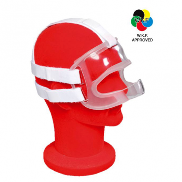 maschera karate face mask per karate omologata WKF