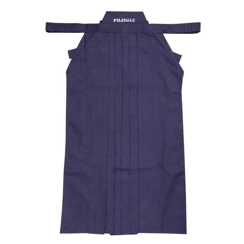 hakama blu rayon polyestere