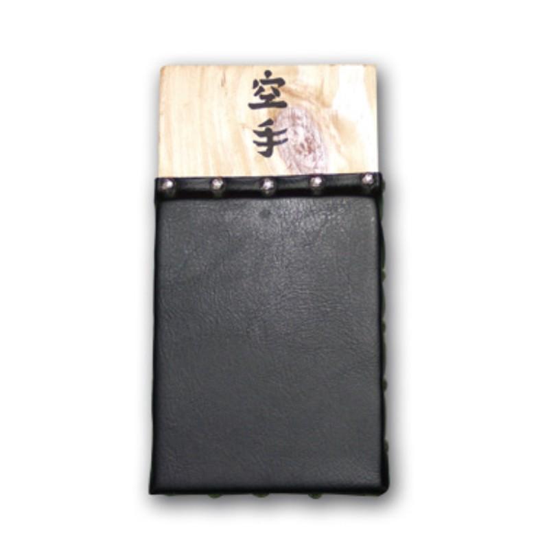 makiwara da muro in pelle con ammortizzatori