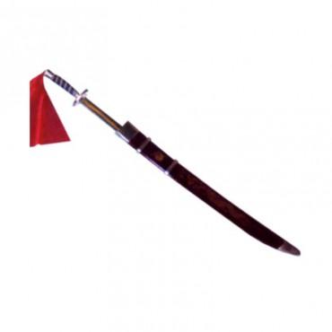Sciabola flessibile con fodero per Wushu