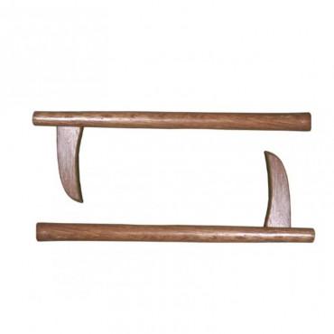 Kama in legno (coppia)