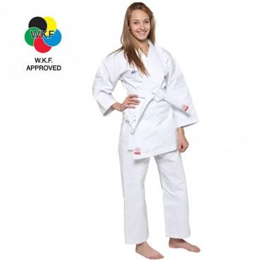karategi Kappa Kata bianco London omologato WKF