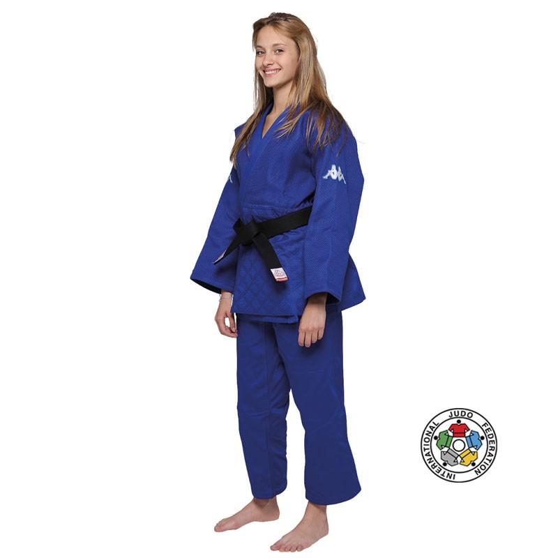 Judogi atlanta blu omologato IJF per gare e competizioni internazionali