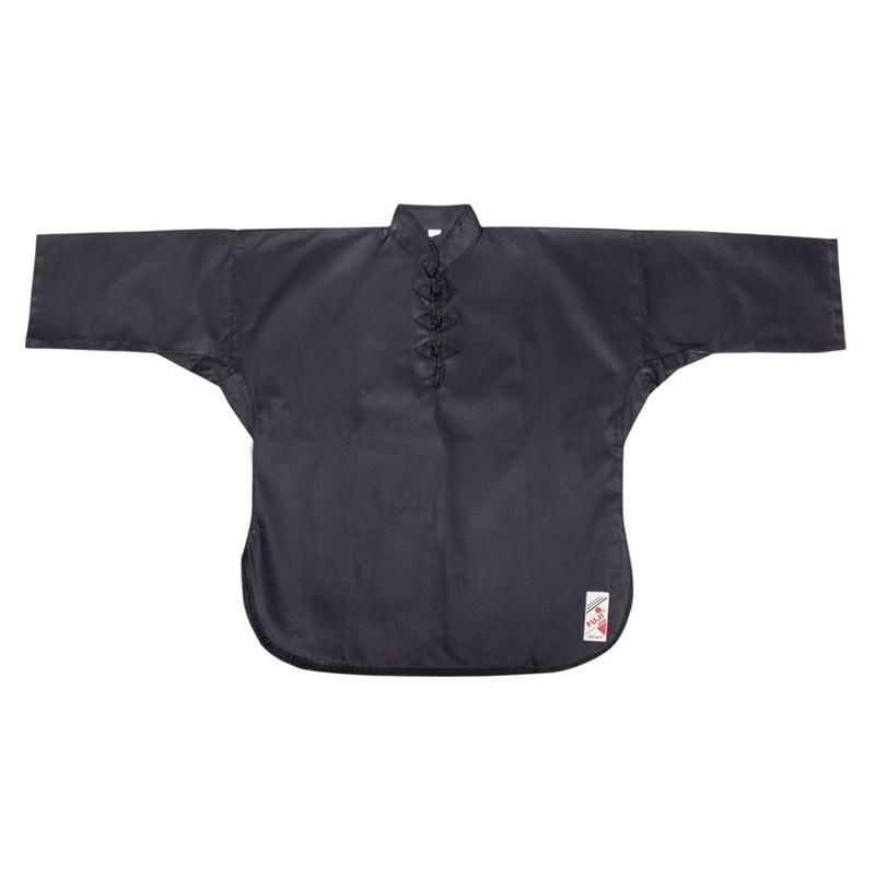 giacca kung fu cotone nero