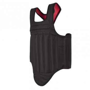 protezione torace reversibile rosso nero
