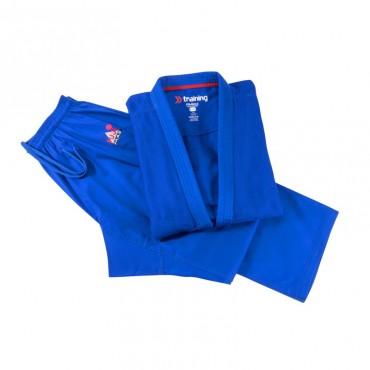 judogi blu allenamento
