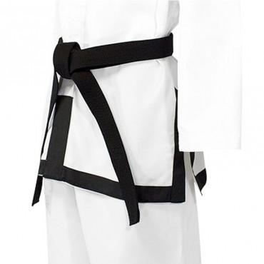 Bordatura nera giacca per dobok ITF (1-3 DAN)