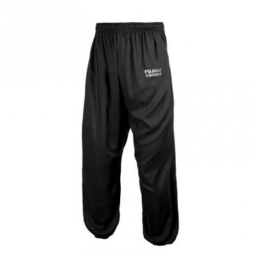 pantaloni taichi kung fu leggeri con elastico in vita e caviglia