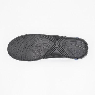 Scarpe fujimae in similpelle con suola in gomma nera,