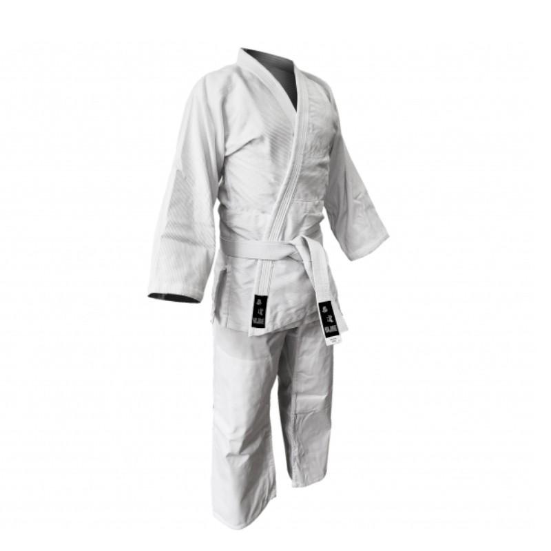 judogi bianco slim fit Basic allenamento