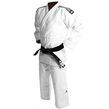 Judogi Adidas Champion bianco slim fit