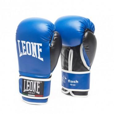 guantoni Leone Flash blu boxe allenamento