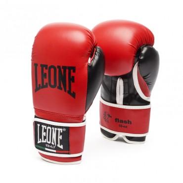 guantoni Leone Flash rosso kickboxing