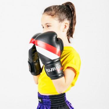 guantoni boxe kick allenamento Fuji Mae bambini