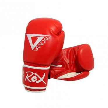 guantoni boxe kick boxing sanda in PU con chiusura velcro